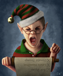 The naughty list (Krita Drawing) by Britsie1