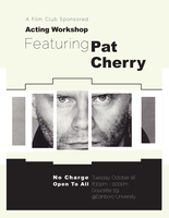 Pat Cherry Workshop Poster by Xicidal