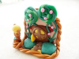 Forest Fairy Door by Saru-Hime