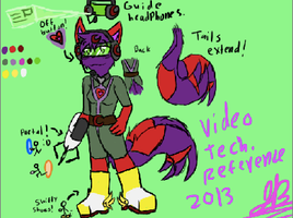 Jackie's Anthro Video Tech. Reference 2013. by BBSMJ