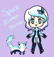 ::Adopt:: Space Kitten ONLY 100 POINTS by K0USEKI