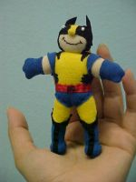 Wolverine voodoo doll by Lil-Hawk