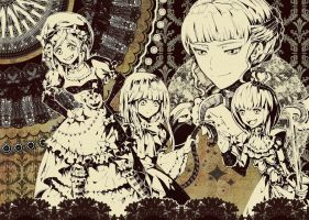 Umineko - witches by Hooooon