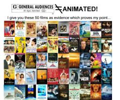50 Live-Action G-rated movies by QuantumInnovator