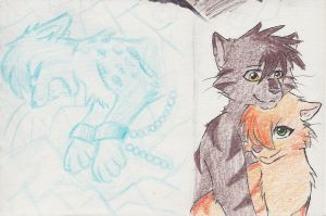 Ashfur's Insanity Drawings 3 by Blairaptor