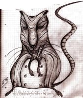 rat - face of Oslo by galychkinne
