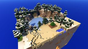 Minecraft map export to Bryce guide by davidbrinnen