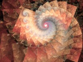 Water Color Spiral by Platinus