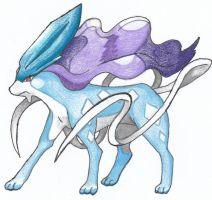 Suicune by ariellepalmer