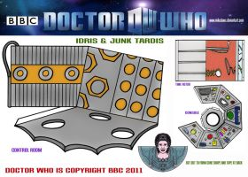 Dr Who - Idris and Junk Tardis by mikedaws