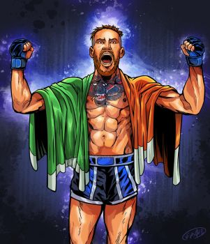 Club de la Lucha - Connor McGregor by eldeivi
