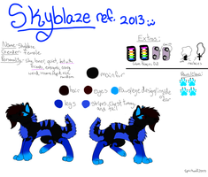 SKYBLAZE REF. 2013 (COMMENT PLZ!) by iW-O-L-F