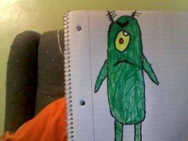 Plankton by Wolfman163