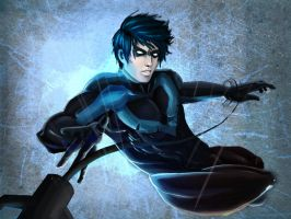 Fallen Nightwing by Doretetsu