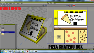 PIZZA Chateau healing box -- Concept game. by ownerfate