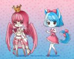 Chibis by Cheila