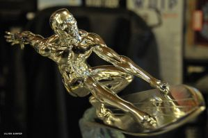 Silver surfer - Surfeur argent by shark-graphic