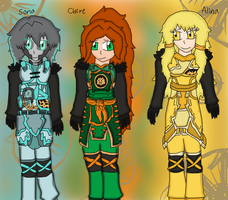 Ninjago Girls Fusion Suits 2 by Skyracinghero717