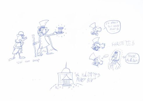 A Silly Crossover by ScroogeMacDuck