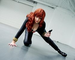 LFCC 2012 Black Widow by Inuyomi