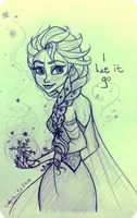 I Let It Go by ArtsyMaria