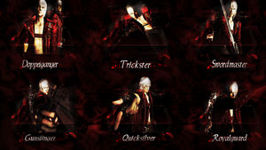 Devil May Cry 3 SE - Style Wallpaper Version 2 by Elvin-Jomar