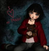 I love my Teddy by LucieG