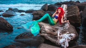 Little Mermaid Ariel by LadyAnadriel