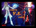Jareth VS Sarah by AiijuinGraphics