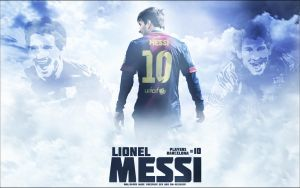 Lionel Messi wallpaper Firespase GFX and BM-Design by firespaceneo