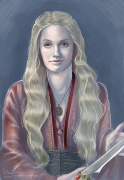 Cersei Lannister by HobbyHorse7