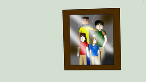 Cracked Family Picture by hynoryuu
