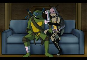.:TMNT Im sorry:. by Dawnrie