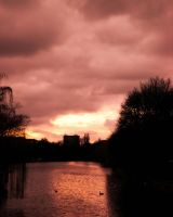Sunset Over Spree 2 by ErinM2000