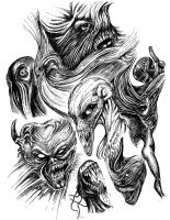 Monsters by Xenomorph71