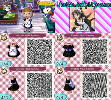 QR Code ACNL: Vestido de Maid Samma by One-Eco