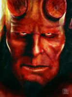 HellBoy by l3raindead