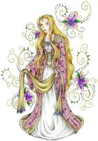 Idril in Pink and Gold by avi17