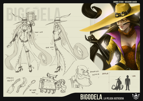 Bigodela by 2MindsStudio