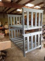 Twin Twin Painted Bunk Bed by Lupas-Deva