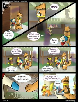 PMD Fallen Earth | Ch. 2 Page 4 by Skaterblog