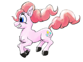 Pinkie Bounce by GildedOwl