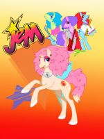 Jem and the Holoponies by kittynpink