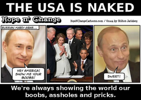 The USA is NAKED by paradigm-shifting