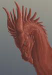 Red Dragon-WIP by Varatera