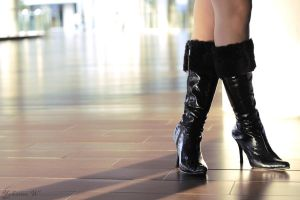 black boots by Wendra21