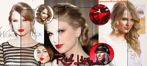 Red Lips action by lucyannaaa