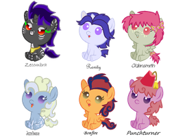 Crackapalooza (Shipping Adopts) by StarryOak