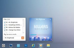 Windows 8 Media Player Concept by zainadeel