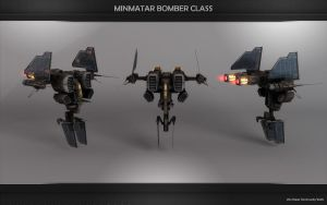 NEW Minmatar Bomber Beta by VanKaiser